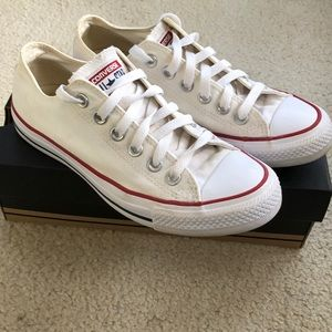 Converse All Star White Low Tops